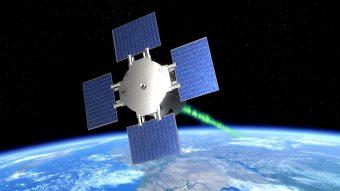 Rappresentazione artistica del minisatellite Eu:Cropis. Crediti: DLlr