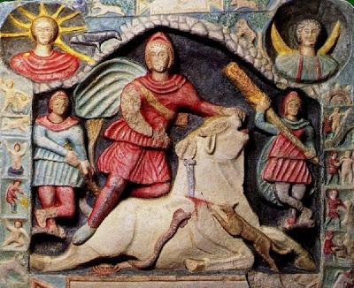 Il Mitraismo, religione misterica di iniziazione