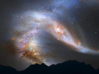 La Via Lattea e Gaia-Encelado, 10 miliardi di anni fa, si unirono