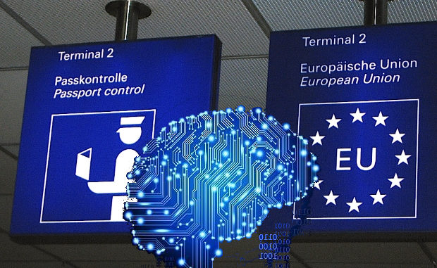 L'intelligenza artificiale in aiuto alle frontiere Europee