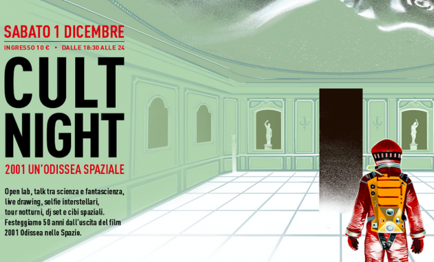 Cult Night sabato 1 dicembre 2018