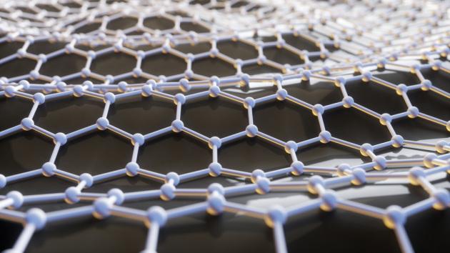La struttura ordinata del grafene è alla base delle sue proprietà. Gli elettroni possono spostarsi da un atomo di carbonio all'altro senza dispendio di energia, e questo lo rende un conduttore perfetto.|OliveTree / Shutterstock