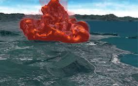 Un gigantesco vulcano potrebbe esplodere in Campania