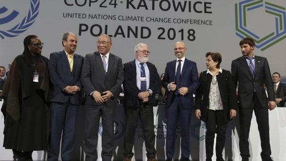 L'incontro di Katowice (ap)