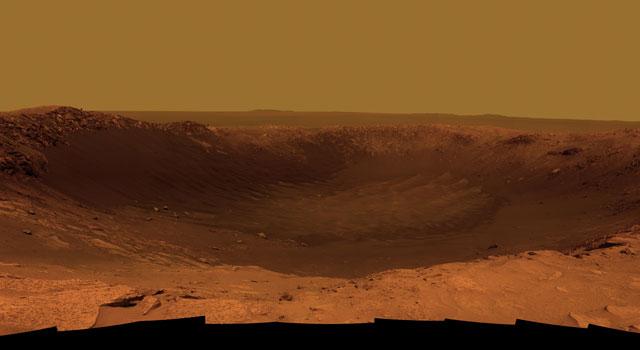"""Il nuovo lander """"insabbiato"""" sul pianeta rosso"""