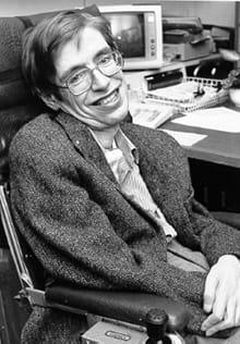 Un'immagine di Stephen Hawking. (Wikimedia Commons)