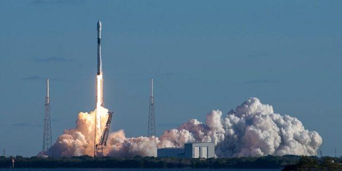 Il lancio del GPS 3. (C) SpaceX