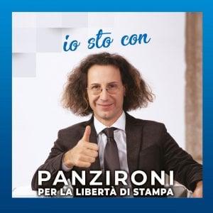 """La campagna per la """"libertà di stampa"""" sul sito del programma tv di Adriano Panzironi"""