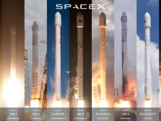 Satellite GPS 3 messo in orbita da Space X con vettore Falcon 9