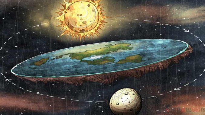 La Terra è piatta ed il Sole con la Luna gli girano intorno