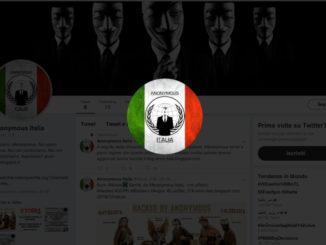 Anonymous Italia defaccia i siti web di Asl ed Ospedali