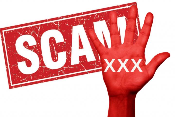 Scam malware trojan