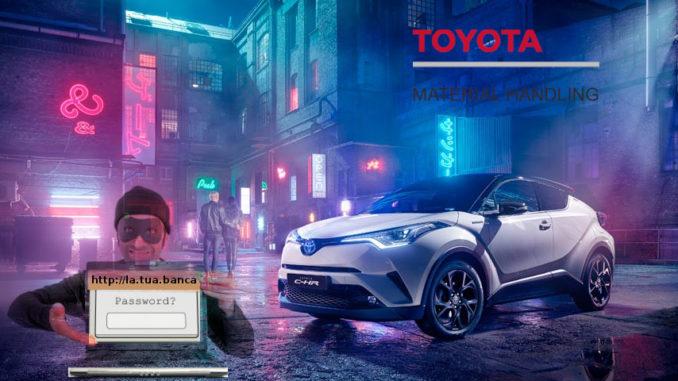 Truffata online, per 250 mila euro, la Toyota Italia di Bologna