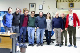 Componenti della collaborazione al Matera Laser Ranging Observatory. Crediti: Asi
