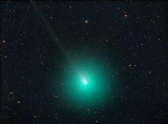 La cometa 46P Wirtanen ripresa il primo dicembre scorso da Jauerling, in Austria. Crediti: Michael Jäger – www.spaceweather.com