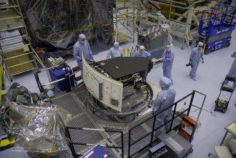 La Wide Field Camera 3 in preparazione per il suo lancio a bordo della missione di servizio: Sts-125 nel 2009. Crediti: Nasa/Amanda Diller