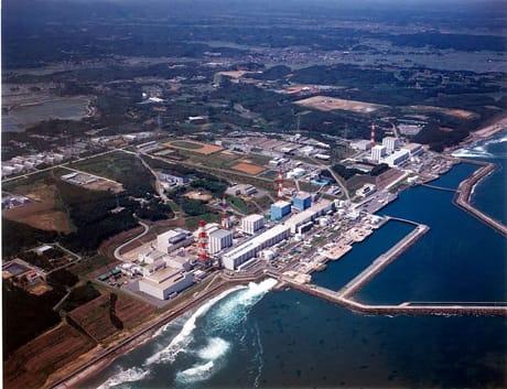 Veduta aerea dell'impianto di Fukushima-Daiich.i (Credit: Tokyo Electric Power Co., TEPCO/Wikimedia Commons)