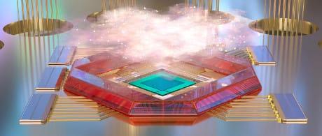 Negli universi olografici, il tessuto dello spazio tempo emerge da una rete di particelle quantistiche. I fisici hanno scoperto che ciò avviene secondo un principio (DVDP for Quanta Magazine)