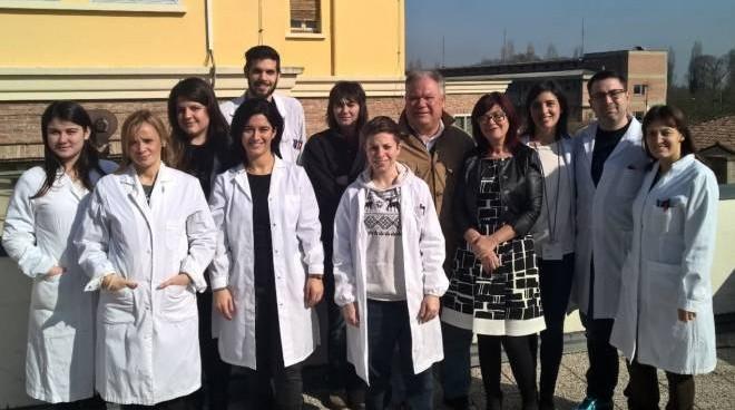 Il gruppo del professor Mauro Tognon che si è occupato della innovativa ricerca