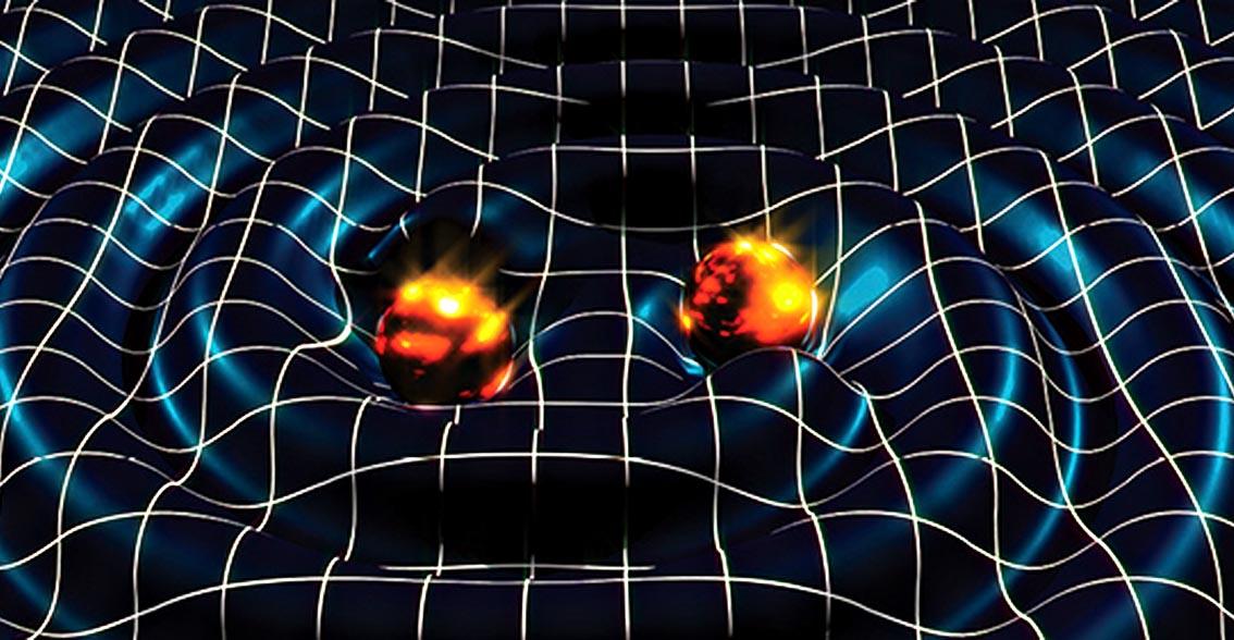 Osservate onde gravitazionali generate da due buchi neri
