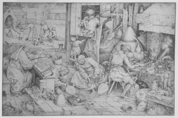 L'alchimista, di Pieter Bruegel il Vecchio (circa 1558). | Via Wikipedia