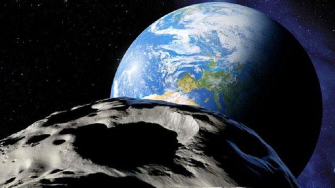 Asteroide verso la terra