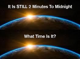 L'orologio dell'apocalisse segna due minuti alla mezzanotte