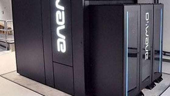 Una foto d'archivio di D-Wave, il computer quantistico di Google