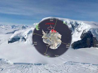 L'Asi rileva lo scioglimento del ghiacciaio Thwaites Antartico