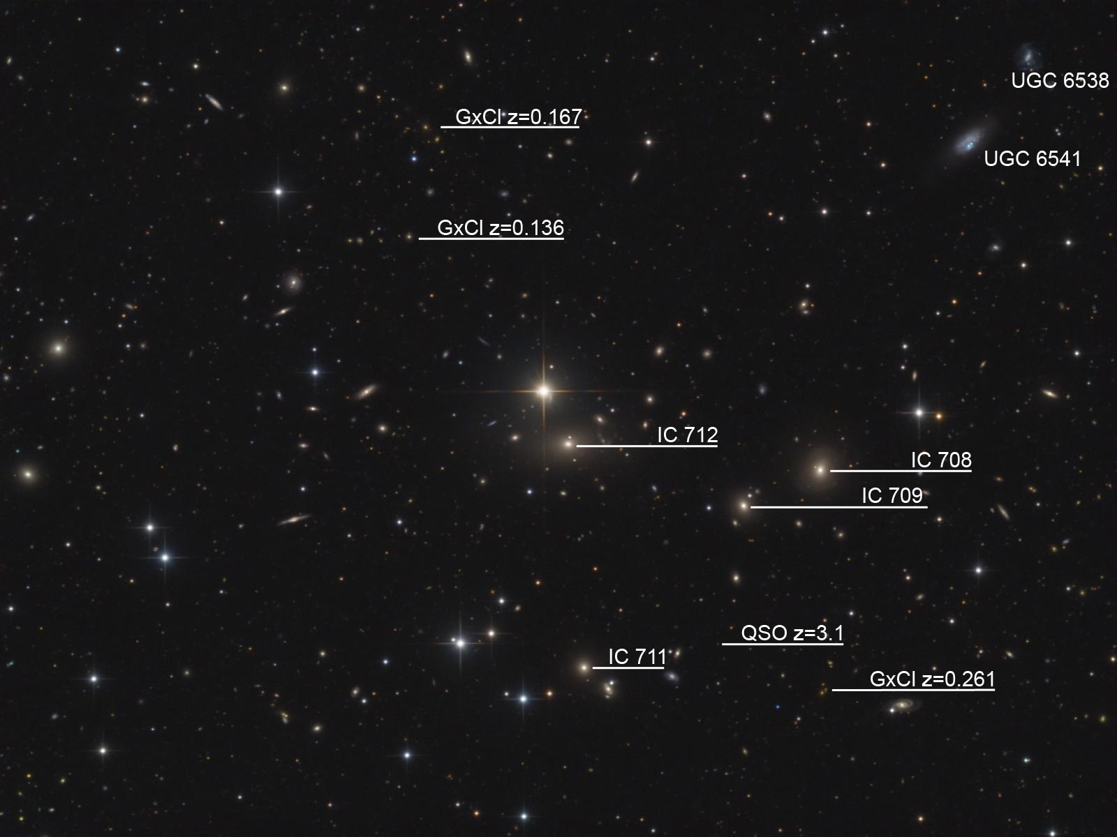Nuove galassie scoperte dai ricercatori dell'Ateneo di Bologna