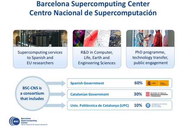Barcelona super computing center