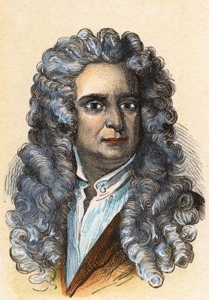Secondo la tesi di uno psichiatra inglese, molti geni, tra cui anche Isaac Newton (1643-1727), presentano tratti tipici dell'autismo. | adoc-photos