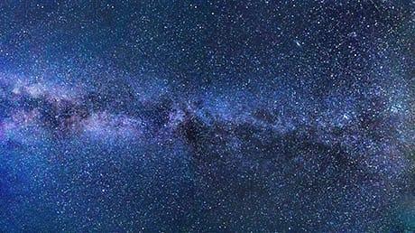 Il profilo della Via Lattea ripreso dalla Terra. (CC0 Public Domain)
