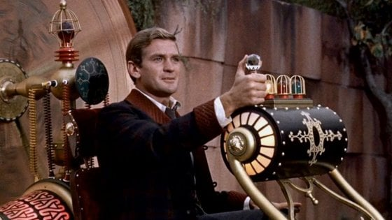"Scena dal film ""Time Machine"" di George Pal (1960)"