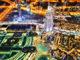 La luce artificiale delle città, illumina a giorno la Terra di notte