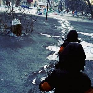 Neve nera (di carbone) in Siberia. | Vesti-KUzbass TV
