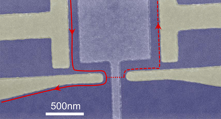 Computer quantistico. Credits: Purdue University/James Nakamura