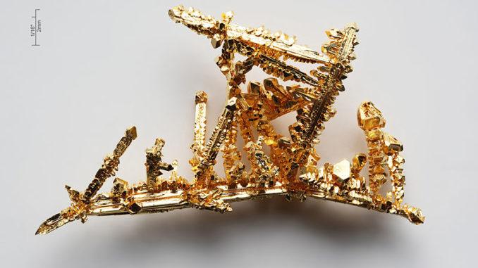 Un batterio trasforma in oro i metalli pesanti