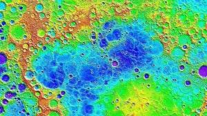 La superficie in falsi colori del nostro nuovo (a volte più) vicino di casa, Mercurio.| NASA