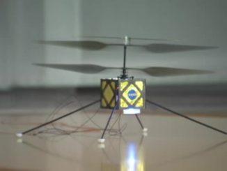 Un drone elicottero studiato per volare su Marte