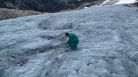 Campionamento sopraglaciale