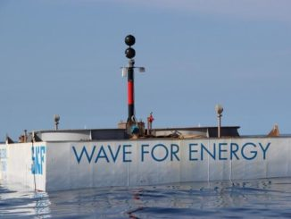 Nuovo sistema Iswec per produrre energia dalle onde del mare
