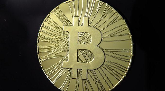 CC BY-SA 2.0 / Antana / Bitcoin statistic coin ANTANAMessi in vendita bitcoin da 1 dollaro - di cioccolato