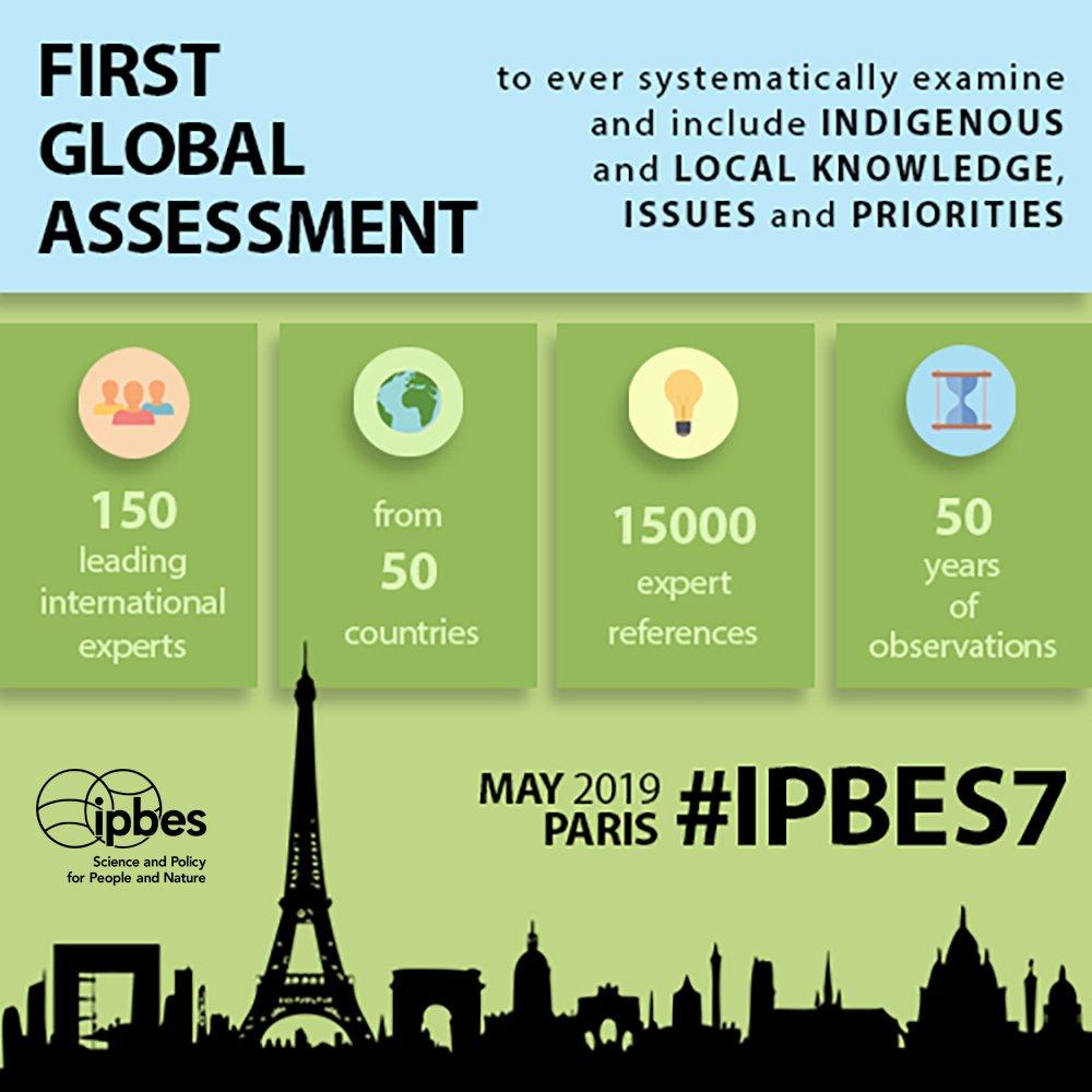 Riunione Ipbes a Parigi per le biodiversità
