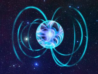 Magnetar, stella di neutroni con intensi campi magnetici