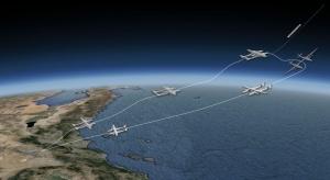 Schema di una futura missione dello Stratolaunch. | Vulcan Aerospace