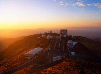 L'Osservatorio di La Silla nel marzo 2003. Crediti: Eso