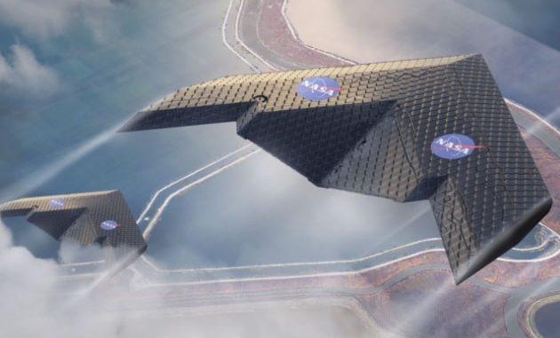 L'innovativa ala del MIT è formata da migliaia di piccoli pezzi assemblati tra loro|NASA Ames Research Center