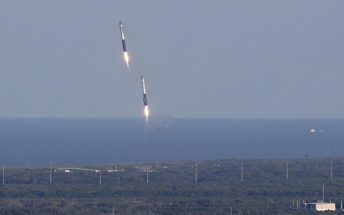 Secondo lancio Falcon Heavy