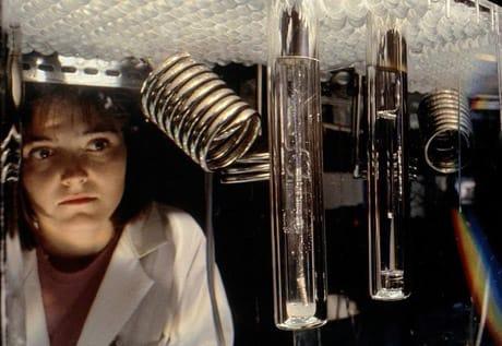 Un'immagine dell'apparato sperimentale usato da Fleischmann e Pons nel 1989 (Science Photo Library/AGF)